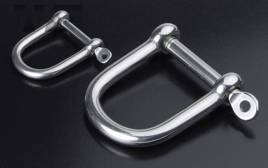 Wide 'D' Shackle in A4 image