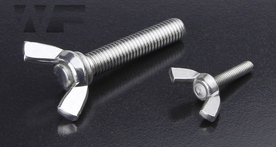 Wing Screws DIN 316 American Form in A2 image